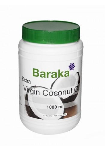 Кокосовое масло Baraka extra virgin 1000мл